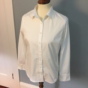 J. Crew perfect stretch button up shirt